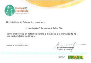 MEC inovação e criatividade na educação básica